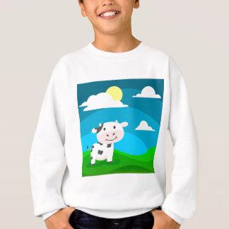 Cow Character Sweatshirt