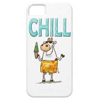 Cow Chilling Barely There iPhone 5 Case