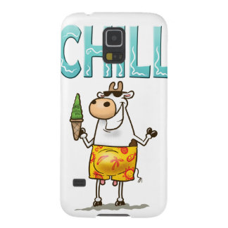 Cow Chilling Case For Galaxy S5