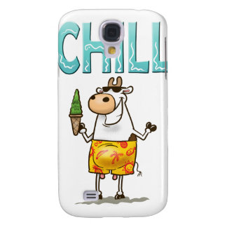 Cow Chilling Galaxy S4 Case