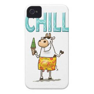 Cow Chilling iPhone 4 Case-Mate Cases