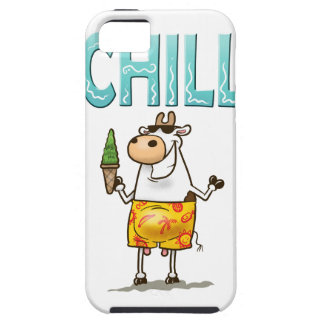Cow Chilling iPhone 5 Cases