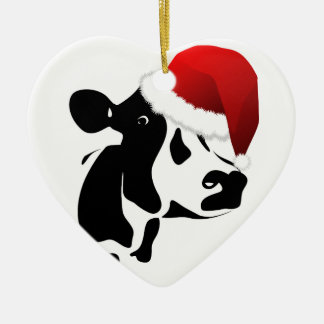 Cow Christmas Ornament