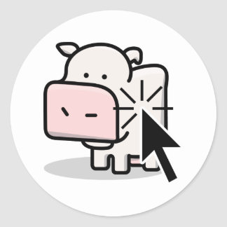 Cow Clicker Sticker
