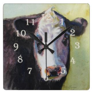Cow Clock II - Designed by Ohio Artist Terri Meyer