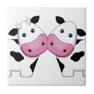 Cow Couple Tile