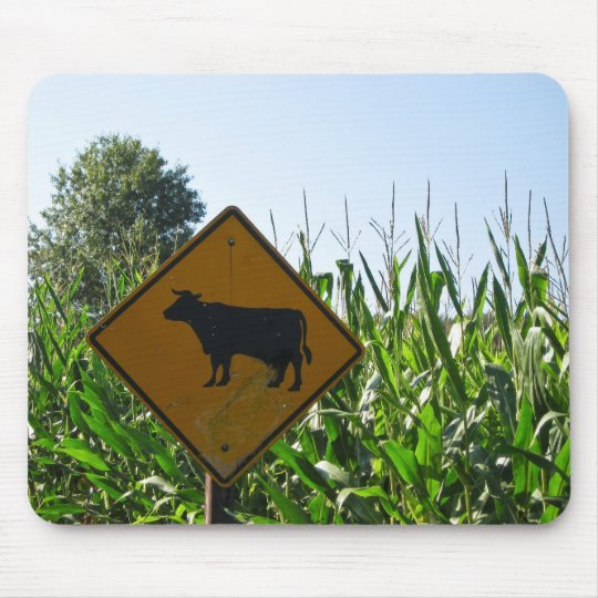 Cow Crossing Mouse Mat