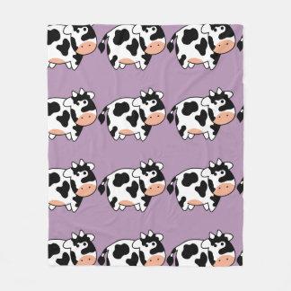 Cow Custom Fleece Blanket