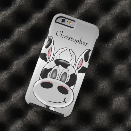 Cow Custom Tough iPhone 6 Case