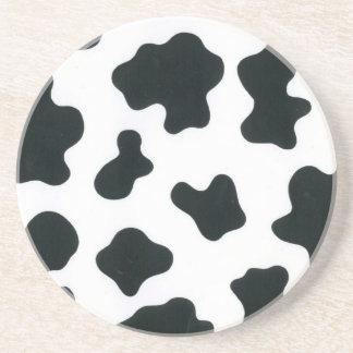 Cow design coaster