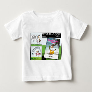 Cow Dismissed, Cow holiday and Toilet paper Baby T-Shirt