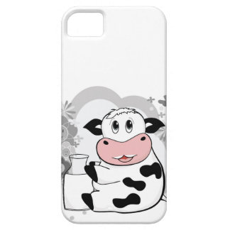 Cow drinking milk barely there iPhone 5 case