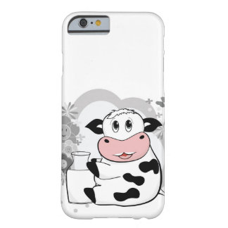 Cow drinking milk barely there iPhone 6 case