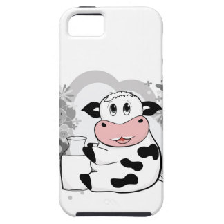 Cow drinking milk iPhone 5 cover