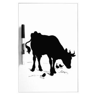 cow dry erase board