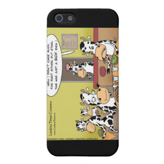 Cow Eats Husband Funny Gifts Mugs & Cards Case For The iPhone 5