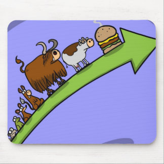 Cow Evolution ll Mouse Pad