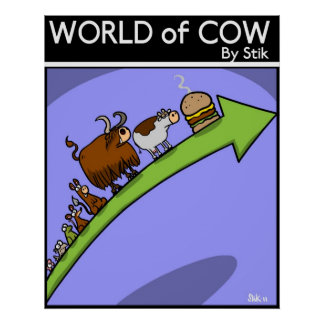 Cow Evolution ll Poster