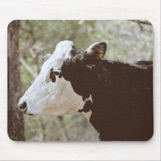 Cow Face Mousepad