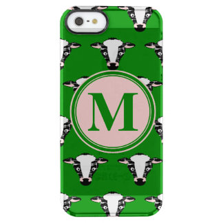 Cow Face Pattern with Customisable Monogram iPhone 6 Plus Case