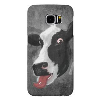 Cow Face Samsung Galaxy S6 Cases