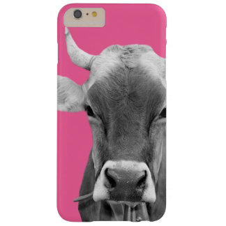 Cow farm animal photo modern black and white barely there iPhone 6 plus case