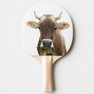 Cow farm animal photography ping pong paddle