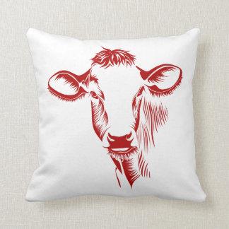 Cow Farmhouse Pillow