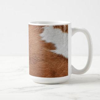 Cow Fur Mug