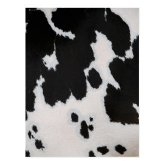Cow fur postcards
