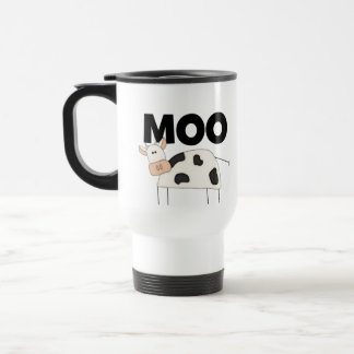 Cow Gifts 15 Oz Stainless Steel Travel Mug