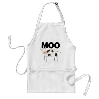Cow Gifts Adult Apron