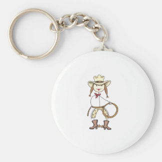 Cow Girl Key Chains