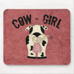 Cow-Girl Mousepads