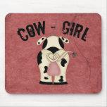 Cow-Girl Mousepads
