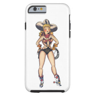 Cow Girl Tattoo Art iPhone 6 case