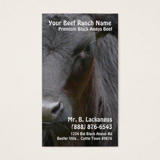Cow Head  Black Angus Beef Ranch