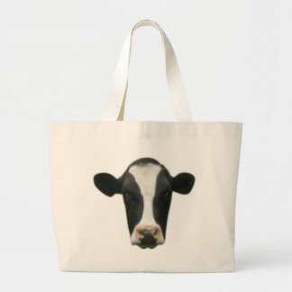 Cow Head Jumbo Tote Bag