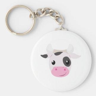 Cow Head Key Chain