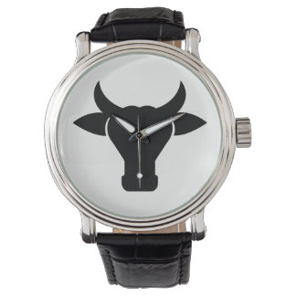 Cow Head Silhouette Watch