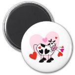 Cow Hearts Refrigerator Magnet