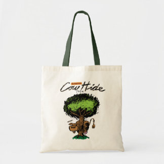 Cow Hide Budget Tote Budget Tote Bag