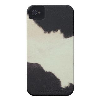 Cow hide iPhone 4 case