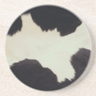 Cow Hide Coaster