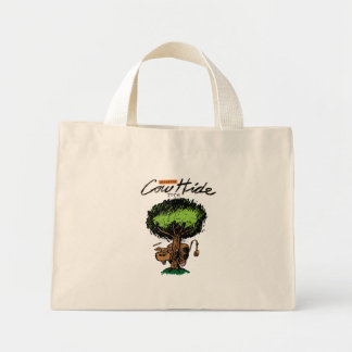 Cow Hide Tiny Tote Tote Bags