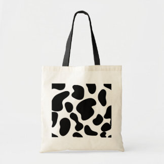 Cow Hide Budget Tote Bag