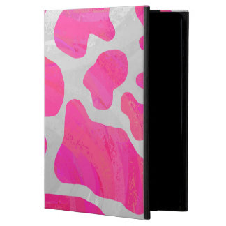 Cow Hot Pink and White Print iPad Air Case