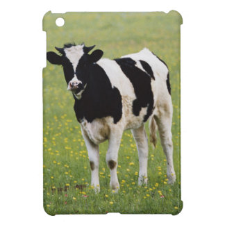 Cow in field of Wildflowers iPad Mini Covers
