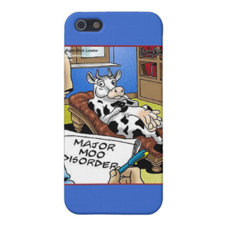 Cow In Therapy 4 Mooo Disorder Gifts Tees Cards iPhone 5 Case