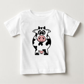 Cow Infant Apparel T Shirt